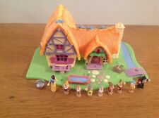 VINTAGE Bluebird DISNEY Polly Pocket Light Up BIANCANEVE Cottage 100%