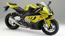 "Yellow BMW S1000RR Motorcycle - 42"" x 24"" LARGE WALL POSTER PRINT NEW."