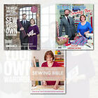 The Great British Sewing Bee 3 Books Collection Set May Martin's & Tessa Eveleg