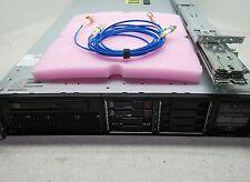"""HP Proliant DL380P G8 Server 2X Xeon E5-2609 /128GB DDR3/2X 146GB 15K 2.5"""" HDD"""