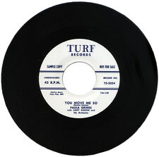 """PAULA GRIMES With ANDY GIBSON & Orch.  """"YOU MOVE ME SO""""  KILLER R&B  LISTEN!"""