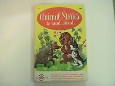 Animal Stories to Read Aloud 1959 Wonder Crosby Newell