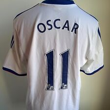 Chelsea 2013 AWAY FOOTBALL SHIRT # 11 Oscar ADIDAS JERSEY TAGLIA ADULTO L