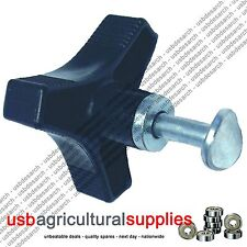 HANDLE BAR WHEEL KNOB AND BOLT (WING NUT) HONDA NEXT DAY DELIVERY LAWN MOWER