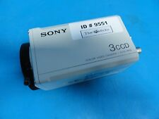 Sony DXC 960MD 3CCD Color Video Camera / CCD-IRIS (Microscope Camera ) (9551/52)