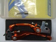 KTM 65SX 85SX EARLY APICO Flexible Lever Set ORANGE