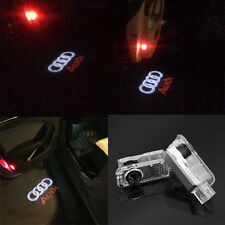 For AUDI A4 A3 A6 A7 Q5 Q7 R8 TT 2x LED door step courtesy laser projector light