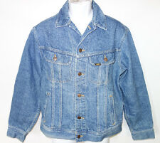 Lee Denim Jean Jacket Mens M Classic Trucker Style dst