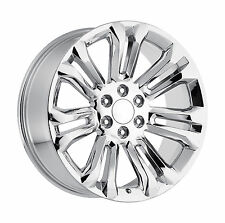 22 GMC Replica Wheels Chrome Rims Sierra Denali Yukon Silverado Tahoe Escalade