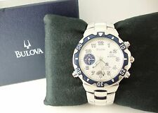2000 Bulova Millennia 98A55, Running Quartz, Alarm, Display Box, New Battery