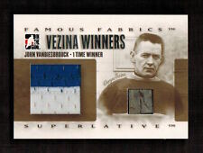 JOHN VANBIESBROUCK & GEORGES VEZINA 2008 In The Game FAMOUS FABRICS (1 of 9)