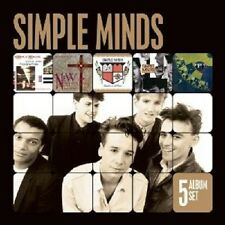 Simple MINDS - 5 album Set (Sons And Fascination/New Gold Dream/+) 5 CD NUOVO