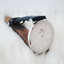 Montre Daniel Wellington classic black sheffield cadran 36mm