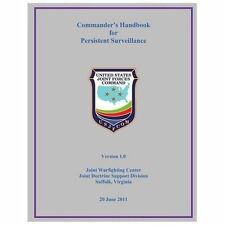 Commander's Handbook for Persistent Surveillance by U. S. Joint Command...