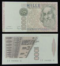 Italy Paper Money 1000 Lire 1982 UNC