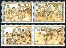 Cyprus 723a,725a pairs, MNH. EUROPA CEPT. Children's Games, 1989