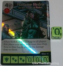 Foil MADAME HYDRA: IN THE NAME OF HYDRA 102 Dice Masters Rare