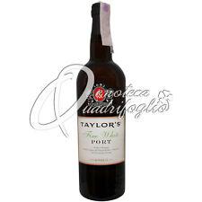 TAYLOR'S FINE WHITE PORT WINE PRODUCT OF PORTUGAL VINO PORTO 20%VOL 75CL DESSERT