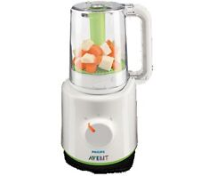 Philips SCF870 / 20 AVENT steamer and blender machine white-green