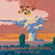 Like It Is-Yes Live At The Mesa Arts Center [2 CD/DVD Combo], New Music