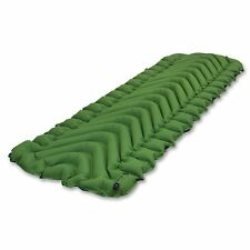 KLYMIT Static V Sleeping Pad GREEN Lightweight Camping FACTORY REFURBISHED