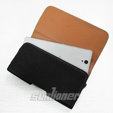 Samsung Galaxy S3 GT-i9305 4G Lte Leather Case Cover Pouch Holster of Belt Clip