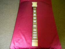 SG style maple neck-Trap inlays Set-in Style Luthier Project