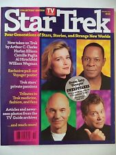 TV Guide Collector's Edition Four Generations 1995 Star Trek Magazine W/2 POSTER