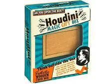 *NEW* Houdini Magic Gift Box - Wooden Trick Box - Think Outside the Box