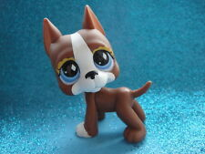 100% ORIGINAL Littlest Pet Shop DOG GREAT DANE 588 Shipping with Polish