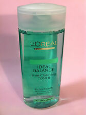 L'OREAL IDEAL BALANCE PORE CLARIFYING TONER,6.7 oz MINIMIZE PORES & CONTROLS OIL