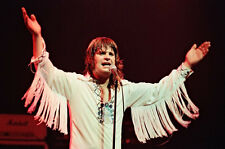 """12""""*8"""" concert photo of Ozzy Osbourne playing at Coventry in 1980"""