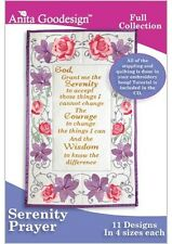 Serenity Prayer Anita Goodesign Embroidery Design