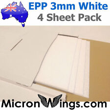 EPP Foam Pack - 3mm White (box of four sheets)
