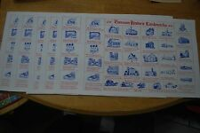 Lot of 6 - 1750-1976 Towson MD Historic Landmarks - 17 3/8 X 11 1/2 Paper mats