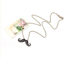Charming Cute Retro Mr. funny mustache lovely sweater chain necklace Newest HOT