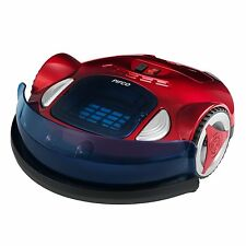 Pifco P28021 Robotic Rechargeable Vacuum Cleaner Floors Intelligent Robo Vac Red