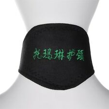 Black Self Heating Magnetic Therapy Tourmaline Pain Relief Neck Wrap Collar GD