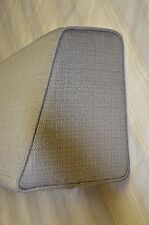 Daybed Wedge bolster cover only (Linen Grey) 5x9x12x36, Custom Made