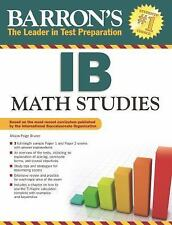 Barron's IB Math Studies, Bruner, Allison Paige