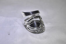 Robert Lunt Bowlen Antique Solid Sterling Silver Spoon Ring NO monogram