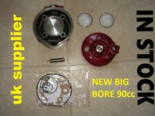 CYLINDER BARREL KIT BIG BORE 90 CC APRILIA AM6 MBK PEUGEOT FANTIC SHERCO PINK
