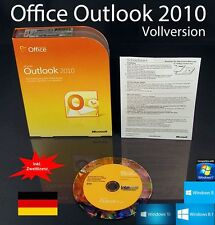 Microsoft Office Outlook 2010 version complète BOX + CD + deuxième installation + OVP