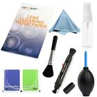 7 in 1 Professional Lens Cleaning Kit Microfiber Cloth For Canon EOS SLR Camera
