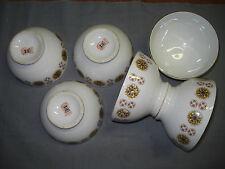 6 bols en porcelaine de Chauvigny