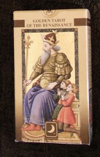 L@@K Golden Tarot of Renaissance CARD DECK RARE SCARABEO ITALY fortune telling