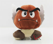 "5"" Super Mario Bro Goomba Stuffed Plush Doll Toy Cute Kids Anime toy Gift New"