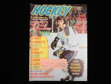 March 1974 Hockey Pictorial Magazine - Rick Martin Cover