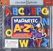 Magnetic A to Z: An Activity Book With Real Steel Pages (Chicken Socks) Magnetic