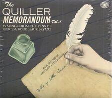 Everlys, Bob Luman etc: The Quiller Memorandum Vol. 1 new/sealed CD (2011)